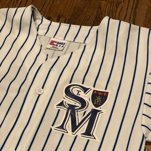Vintage Shirts - *VINTAGE* High School Baseball Jersey